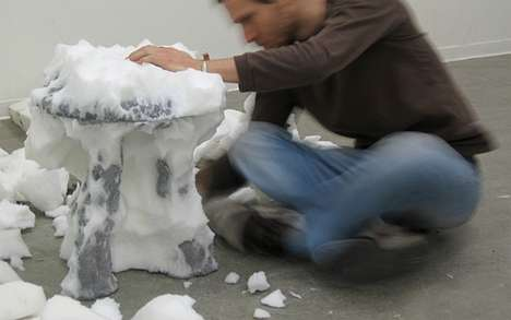 Styrofoam Stools