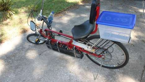 Treadmill-Powered Bikes