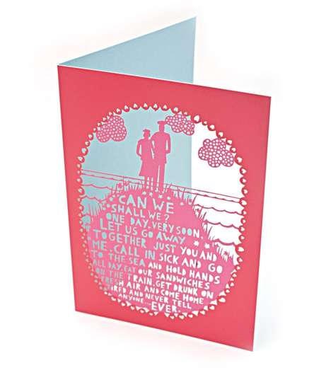 Ornate Papercut Cards