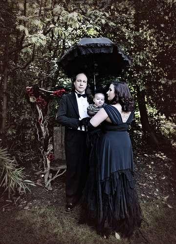 Goth Family Portraits