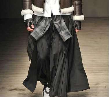 Ankle-Length Men's Skirts