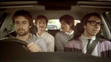 Hipster-Morphing Car Commercials - The Volkswagen Hipster Ad Encourages You to 'Follow No One'