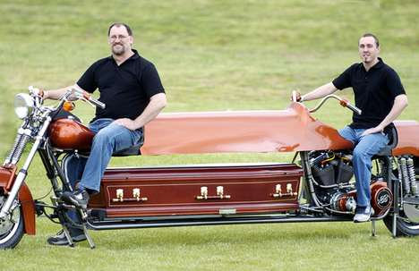 Motorcycle Hearses