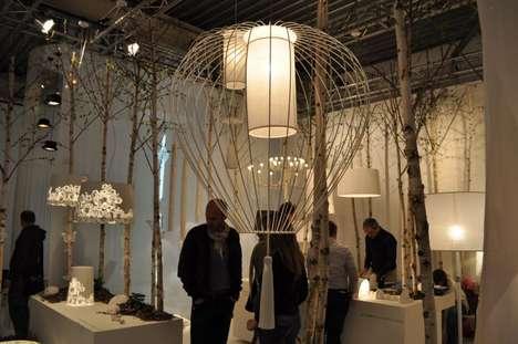 Tasseled Cage Lighting