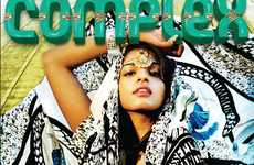 Tribal Graffiti Fashion - MIA in Complex June/ Issue Features Cultural Rockstar Style