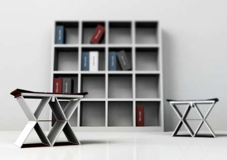 Concealed Bookshelf Chairs