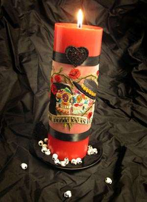 Day of the Dead Candles