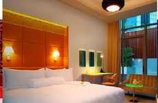 Green Geek-Friendy Hotels - The Klapsons Boutique Hotel in Singapore is Both Eco and Electronic