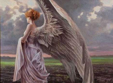 Angelic Field Paintings