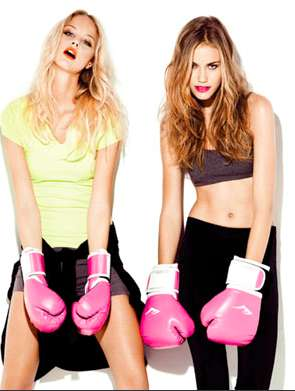 The Forever 21 Active Wear Lookbook Shows Off Color and High Heels