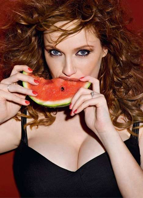 Christina Hendricks Sizzles in the Esquire Russia June 2010 Spread