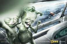 Extraterrestrial Humor Ads