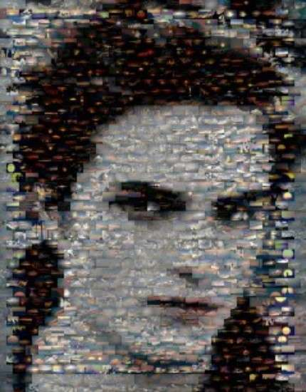 Pixelated Movie Montages