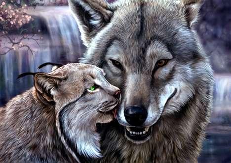 Animal Romance Art