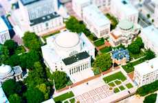 Bird's-Eye Tilt-Shift - These Oliver Barbieri 'Tilting City' Photos Look Like Mini Models