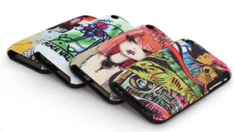 Illustrated iPhone Cases