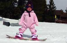 Snowboarding Babies - Meet the One-Year-Old Snowboarder, Ava Marie