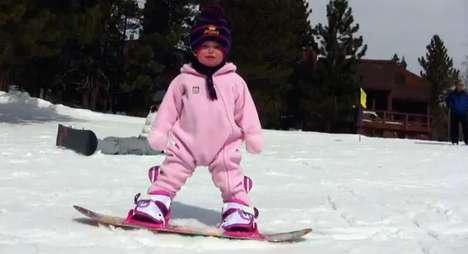 Snowboarding Babies
