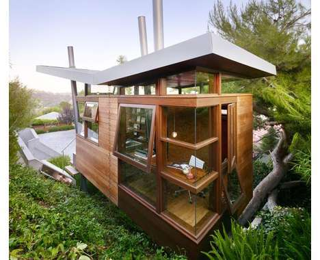 From Tree-Integrated Homes to Celebrity Treehouses