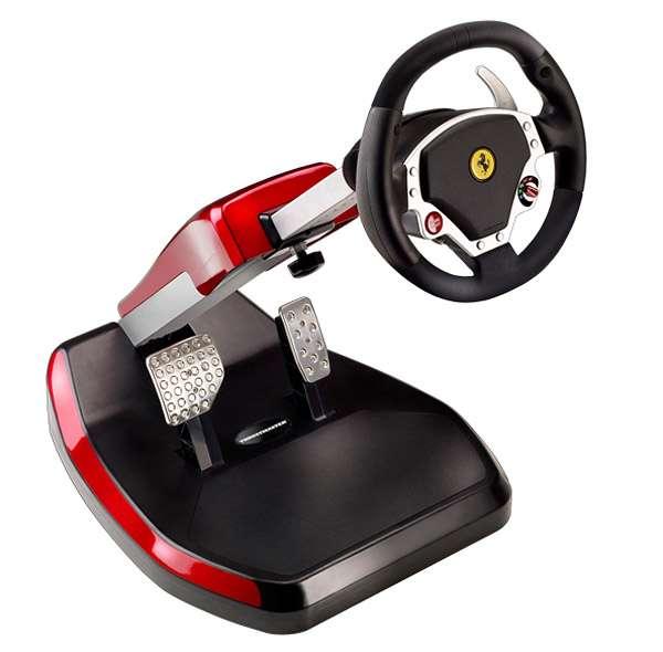 Supercar Gaming Accessories Ferrari Scuderia Racing Wheel