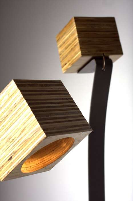 Block-Head Lamps
