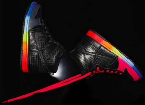 Rainbow Court Kicks