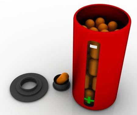 Energized Pill Containers