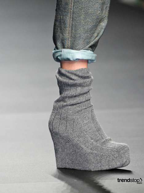 Socks Over Shoes