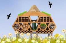 Five-Star Bee Hotels - The Projects for the 'Beyond the Hive' Competition 2010 are Out of this World
