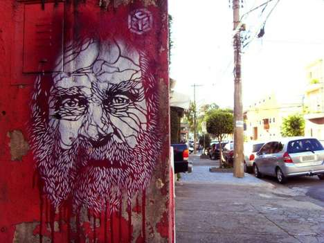 The C215 by Christian Guemy is Wall-Friendly Art