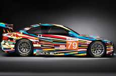 Pyschedelic Sportscars - The Jeff Koons BMW Art Car is Full of Spunk and Speed