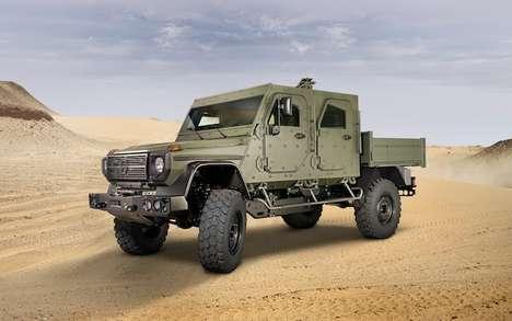 Militarized Luxury Cars
