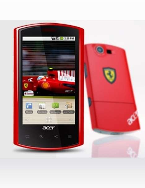 Supercar Smartphones - The Acer Liquid E Ferrari Edition is Sexy and Smart