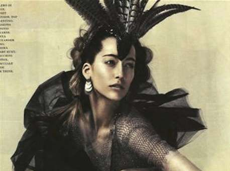Fierce Feathery Headpieces - 'Performance' in Flair is Otherworldly
