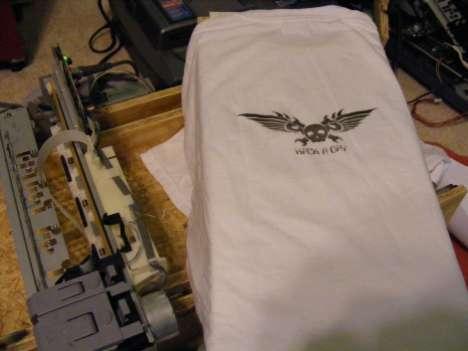 DIY Printed T-Shirts