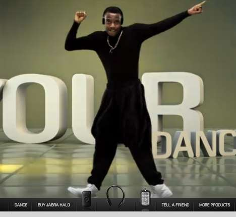 The Jabra HALO 'Free Your Dance' Site Wants You to Go Wireless