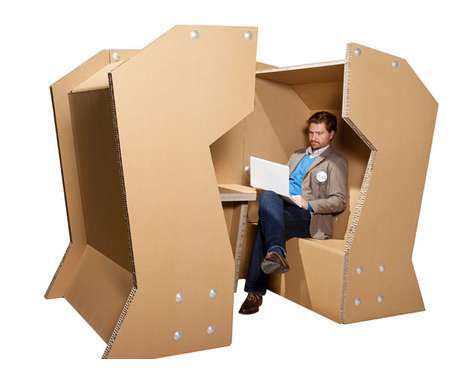28 Cardboard Furnishings