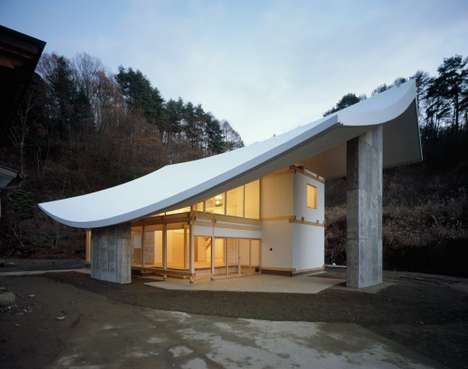 Modern Sloping Temples