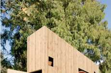 Super Skinny Homes - Nils Holger Moormann's 'Walden' Can Fit a Family Despite Being Only 3FT Wide