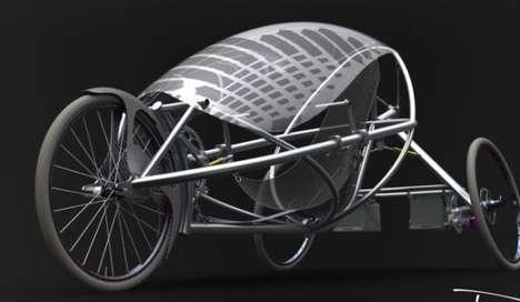 Handlebar-Free Trikes