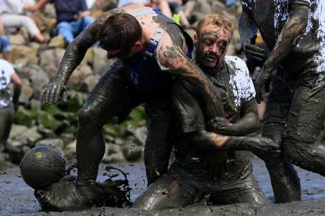 Mud Olympics in Germany is All About Messy Goodness