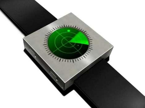 Sonar-Like Timepieces