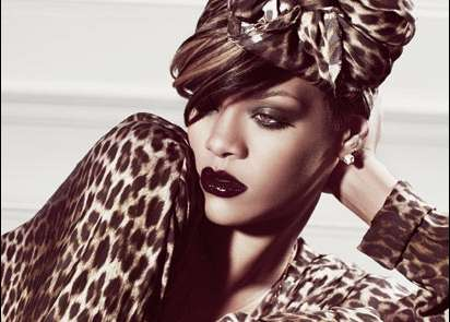 All-Over Animalistic Fashion - The Rhianna Elle Magazine Spread is Wildly Fierce