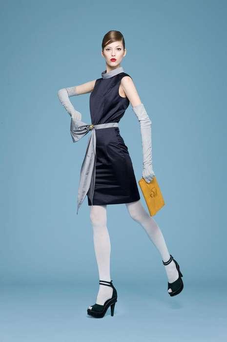 Hepburn-Styled Lookbooks