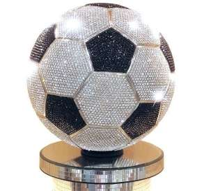 Blinged-Out Soccer Balls
