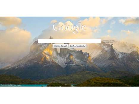 Chameleon Websites - The Google Homepage Gets a Colorful & Customized Redesign