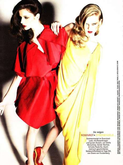 The Glamour Germany June 2010 Spread Dramatizes Liveliness