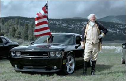 The New Dodge Commercial Mixes Freedom and Cars