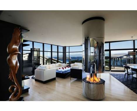31 Super Chic Fireplaces