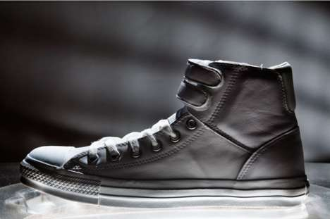 Strappy High-Tops - The Converse Chuck Taylor Strap Hi Leather is Pub- and Club-Ready